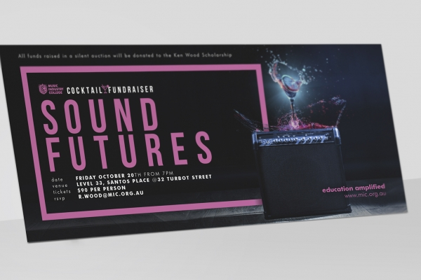 SOUND FUTURES / COCKTAILS FOR A CAUSE